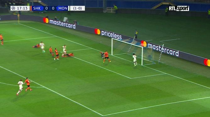 Shakhtar-Monaco: le résumé de la rencontre (2-2)