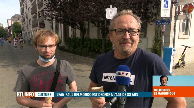 Décès de Jean-Paul Belmondo: ses fans belges lui rendent hommage