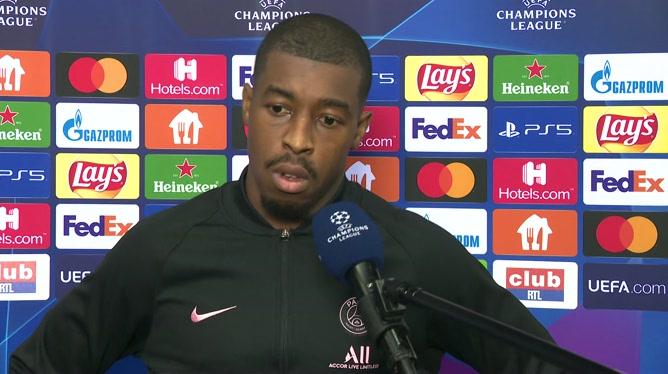 Presnel Kimpembe peste après les points perdus à Bruges