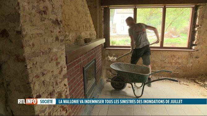 Inondations en Wallonie: la Région complète l'indemnisation des assureurs