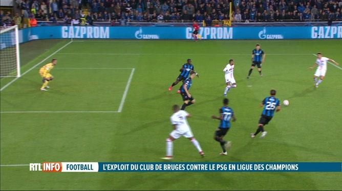 Ligue des Champions: retour sur le match Bruges - PSG (1-1)