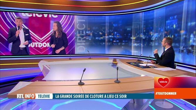 33e Télévie: Jean-Michel Zecca et Julien Doré sont en direct