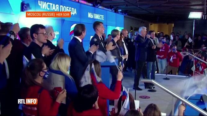 Le parti de Poutine remporte les législatives en Russie