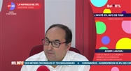 Ahmed Laaouej, - L'invité RTL Info de 7h50