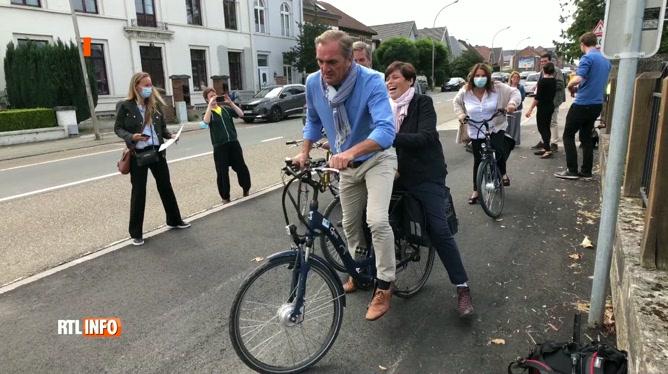 Jodoigne: un axe dangereux pour les vélos a été sécurisé
