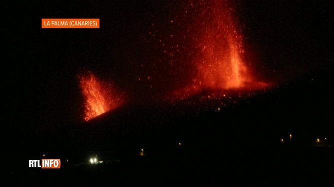 Le volcan Cumbre vieja entre en éruption
