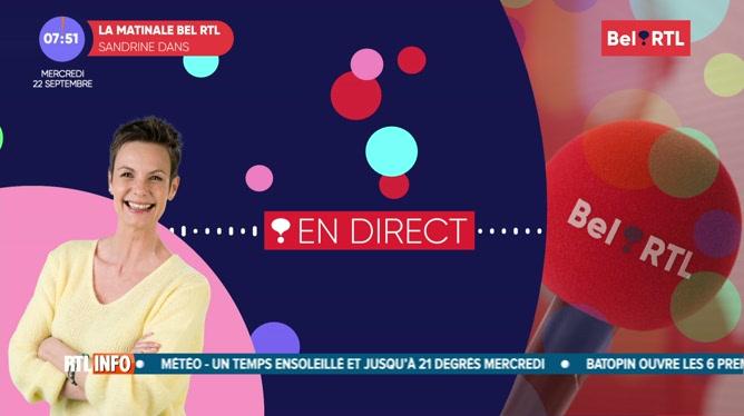 Christie Morreale - L'invitée RTL Info de 7h50