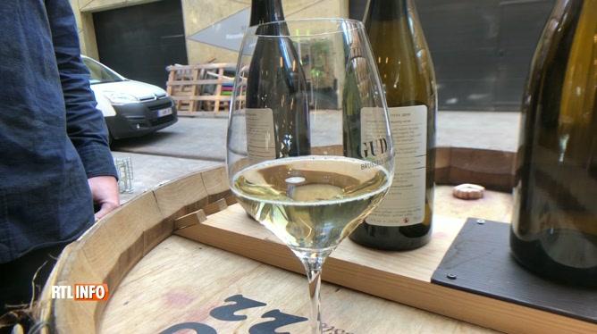 Le premier vin à bulles bruxellois