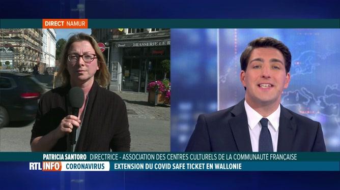 Le monde culturel en Fédération Wallonie-Bruxelles pas très favorable au Covid Safe Ticket