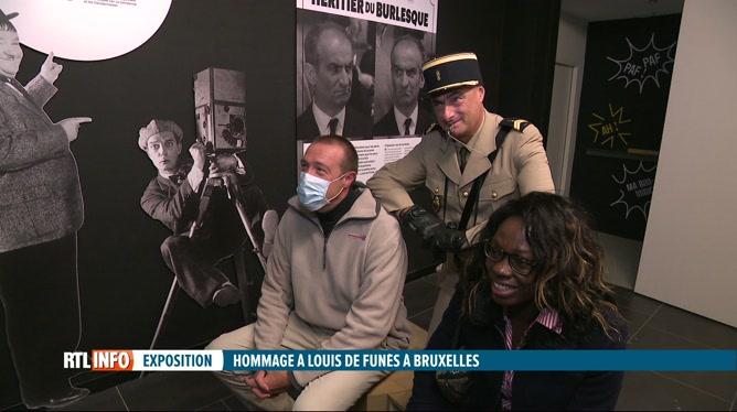 Une exposition consacrée à Louis de Funès s'est ouverte à Bruxelles
