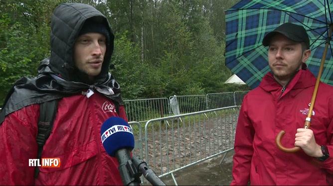 Paris-Roubaix: les spectateurs étaient présents malgré la pluie et le vent