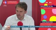 Gilles Vanden Burre - L'invité RTL Info de 7h50