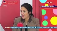 Zakia Khattabi - L'invité RTL Info de 7h50