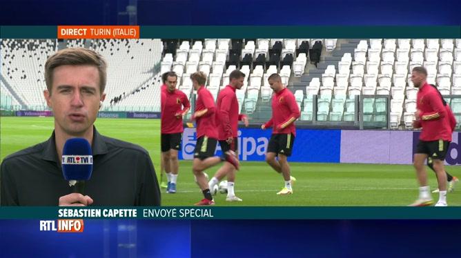 Football, Ligue des Nations: les Diables Rouges s'entraînent à Turin