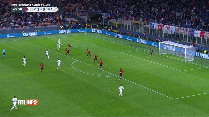 Football, Ligue des Nations (finale): Espagne - France (1-2)