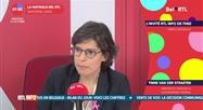 Tinne Van Der Straeten - L'invitée RTL Info de 7h50