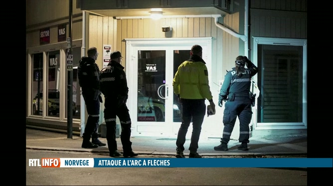 Norvège: un homme armé d'un arc et de flèches a tué 5 personnes hier soir