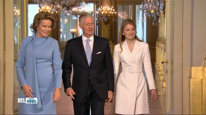 Extrait du Place Royale consacré à la princesse Elisabeth qui fête ses 20 ans