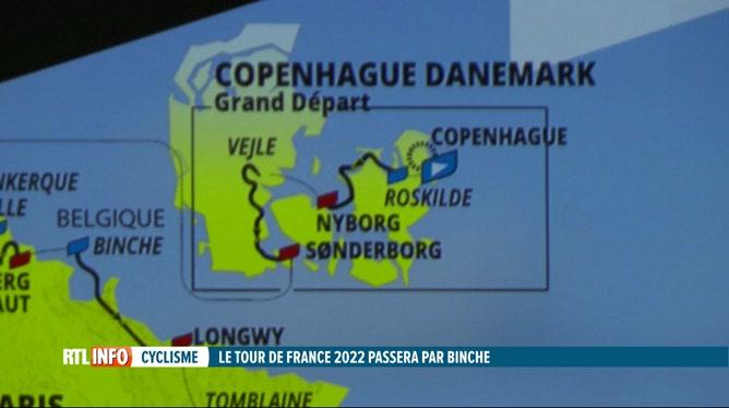 Tour de France 2022: les coureurs s'élanceront de Copenhague