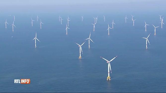 Energie: 100 millions débloqués pour construire des éoliennes en Mer du Nord