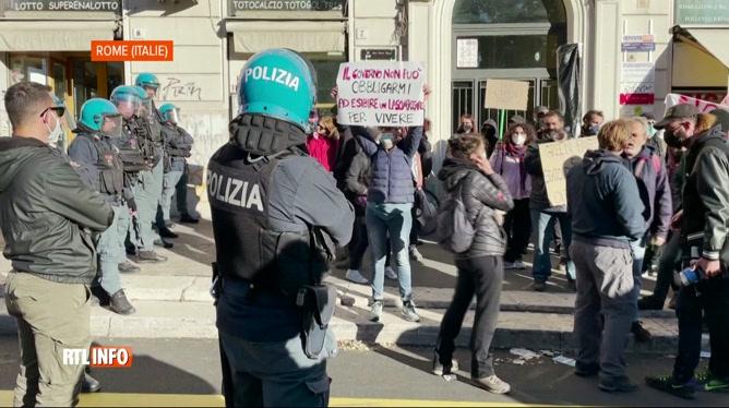 Italie: l'obligation du pass sanitaire au travail suscite de vives tensions