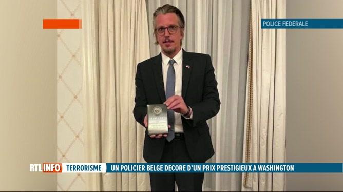 Un policier belge décroche un prix prestigieux lors des Top Cops Awards