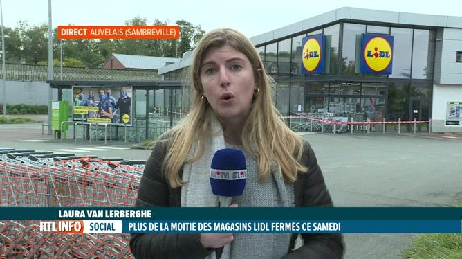 Grève chez Lidl, infos en direct