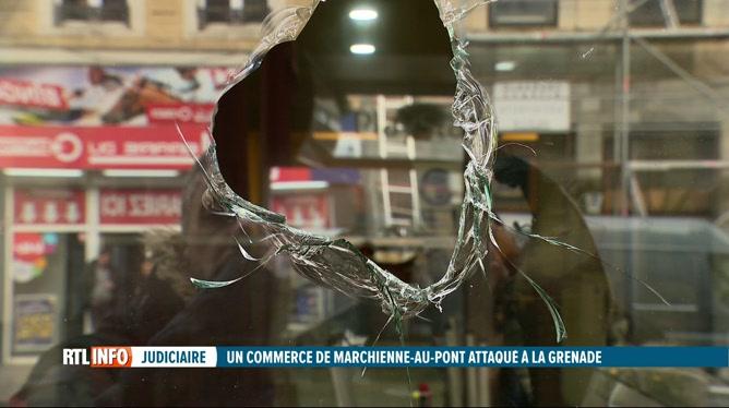Une grenade a été lancée sur un snack de Marchienne-au-Pont