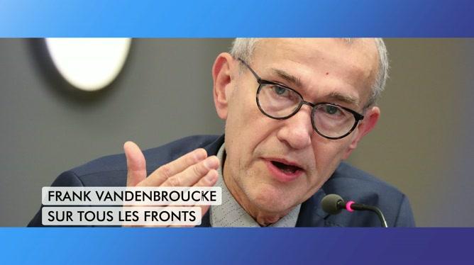 C'est pas tous les jours dimanche: Frank Vandenbroucke sur tous les fronts