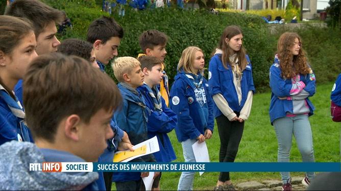 Les inscriptions chez les Scouts on bondi avec la crise sanitaire