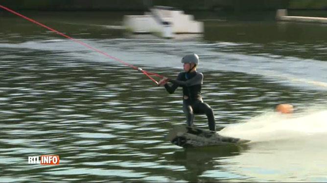 Compétition de wakeboard ce weekend aux Lacs de l'Eau-d'Heure
