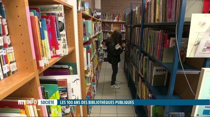 Les bibliothèques publiques fêtent leurs 100 ans