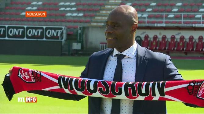 Football: le club de Mouscron se sépare de Mbo Mpenza
