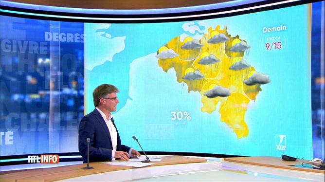 Les prévisions météo de Stephan van Bellinghen